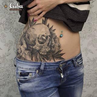 Tatuaże Brzuch Wzory I Galeria Tatuaży