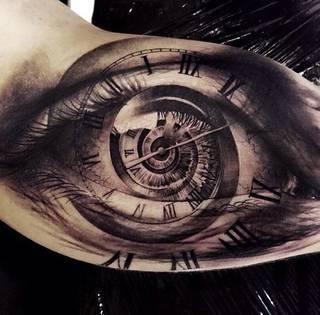 Tatuaże Czas Wzory I Galeria Tatuaży