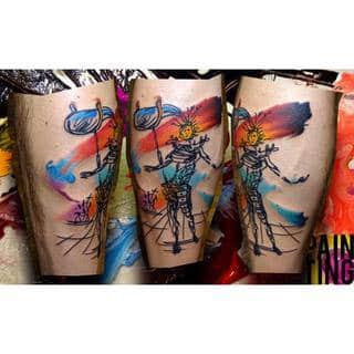 Niesamowite tatuaże w wykonaniu Pain Ting - Szymona Gdowicza, 32 latka mieszkającego w Krakowie #8