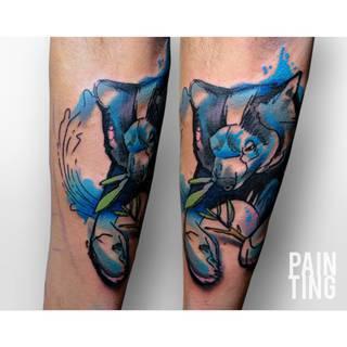 Niesamowite tatuaże w wykonaniu Pain Ting - Szymona Gdowicza, 32 latka mieszkającego w Krakowie #9