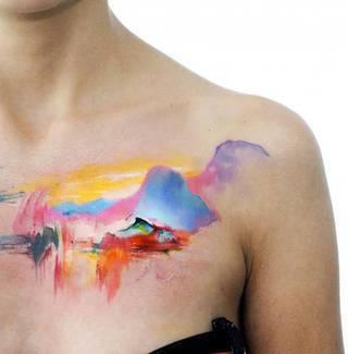 Tatuaże Obojczyk Wzory I Galeria Tatuaży