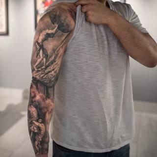 Tatuaże Syzyf Wzory I Galeria Tatuaży