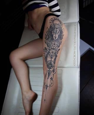 Tatuaże Tatuaznaudzie Wzory I Galeria Tatuaży