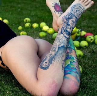 Pięknie zrobione nóżki