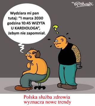 polska służba zdrowia wyznacza nowe trendy