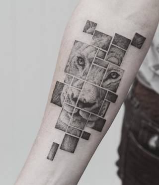 Tatuaże Kwadrat Wzory I Galeria Tatuaży