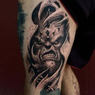 Tatuaże Na Nodze Wzory I Galeria Tatuaży
