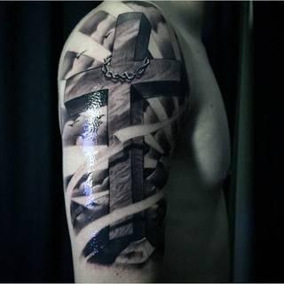 Tatuaże Krzyz Wzory I Galeria Tatuaży