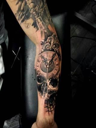 Tatuaże Smierc Wzory I Galeria Tatuaży