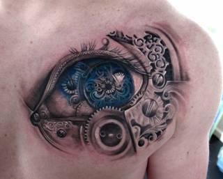 Tatuaże Mechaniczne Wzory I Galeria Tatuaży