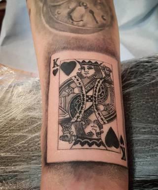 Tatuaże Karta Wzory I Galeria Tatuaży
