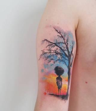 Tatuaże Dziecko Wzory I Galeria Tatuaży