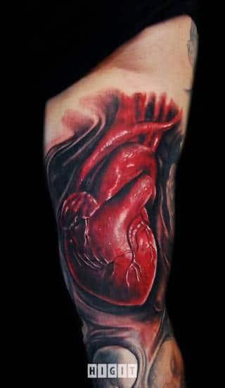 Tatuaże Krew Wzory I Galeria Tatuaży