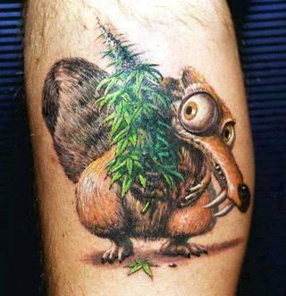Tatuaże Marihuana Wzory I Galeria Tatuaży