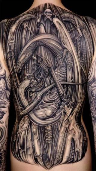 Tatuaże Obcy Wzory I Galeria Tatuaży