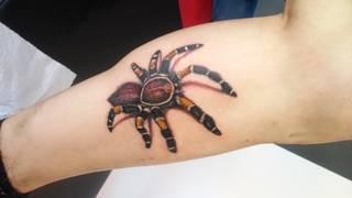 tatuaż wykonał Leman