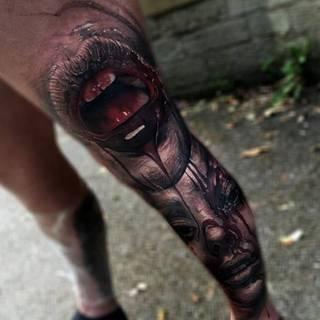 Tatuaże Usta Wzory I Galeria Tatuaży