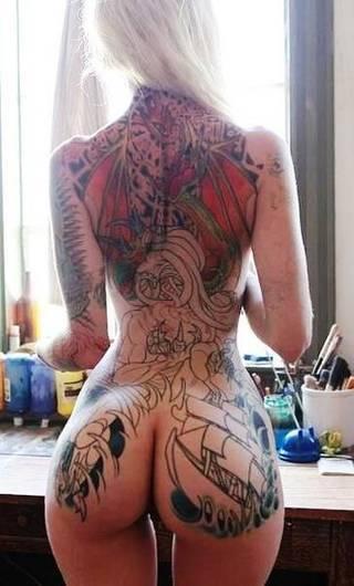 Tatuażyści to mają ciekawą pracę