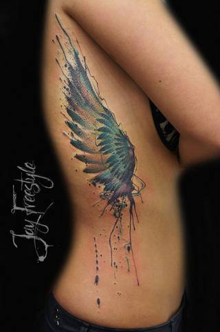 Tatuaże Bok Wzory I Galeria Tatuaży