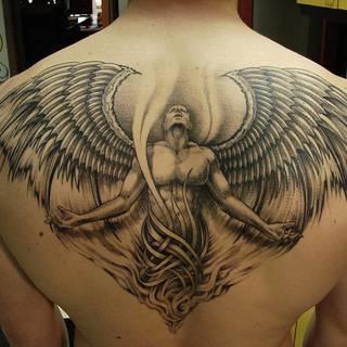 Tatuaże Skrzydla Wzory I Galeria Tatuaży Strona 46