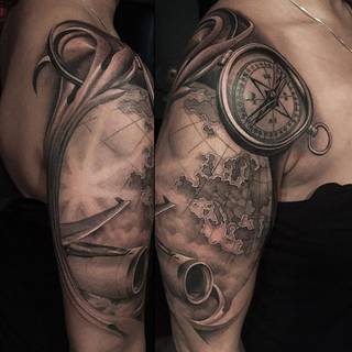 Tatuaże Samolot Wzory I Galeria Tatuaży
