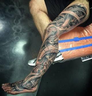 Tatuaże Mechanika Wzory I Galeria Tatuaży