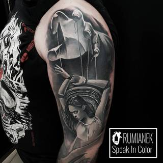 Wykonawcą tego dzieła jest Rumianek ze studia Speak In Color - Wodzisław Śl. Po więcej zapraszamy na www.speakincolor.pl 5!
