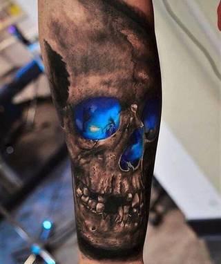 Tatuaże Czaszka Wzory I Galeria Tatuaży Strona 14