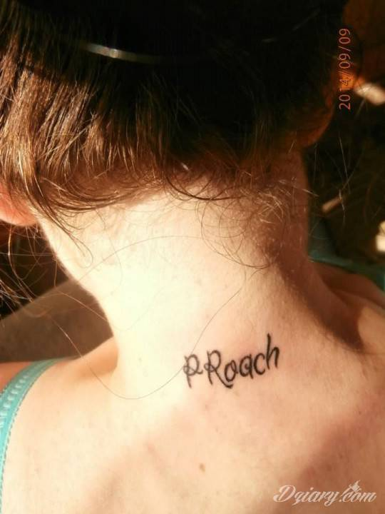 Trzeci tatuaż (2014), skrócona nazwa jednego z ulubionych zespołów Papa Roach.