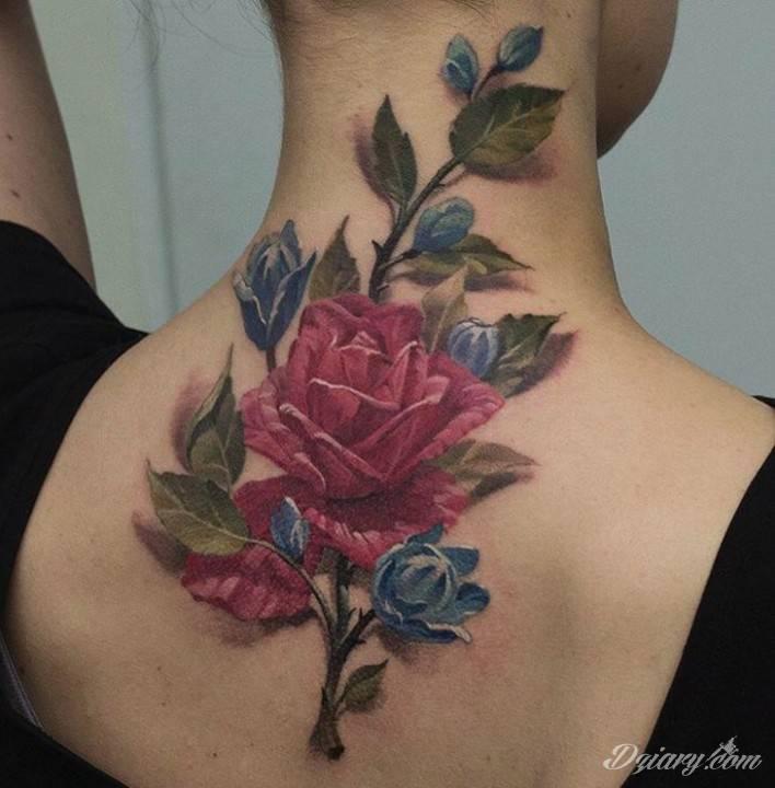 Tatuaż Twoje gardło to...