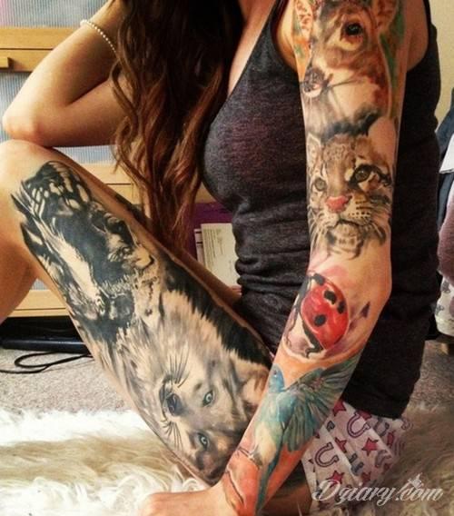 Tatuaż W odwadze kryje...