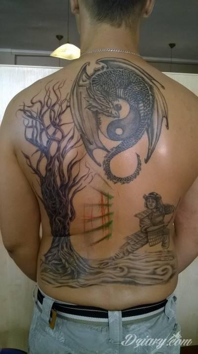 Tatuaż witam mam na...