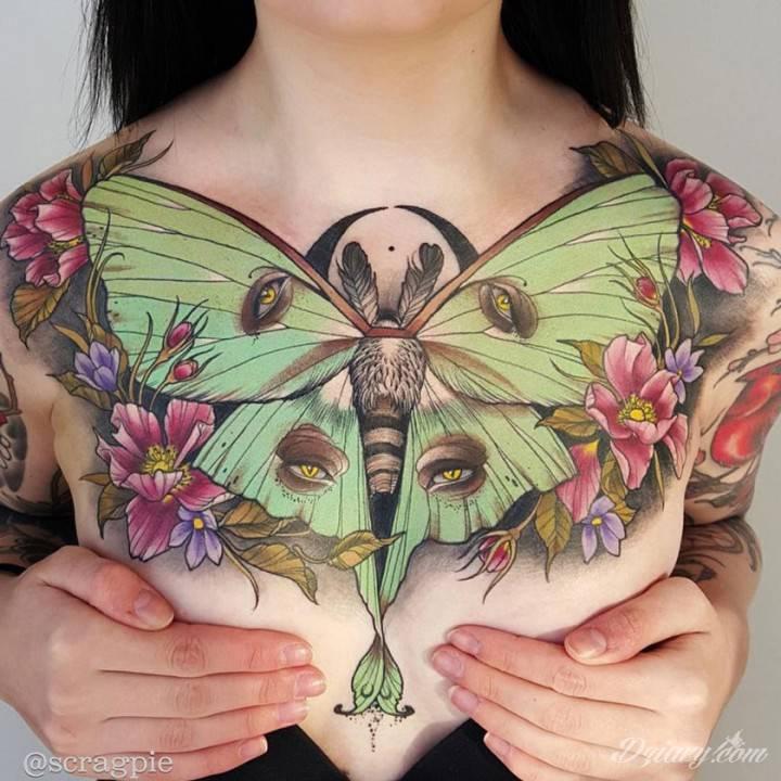 Tatuaż Wzleć na wyżyny...