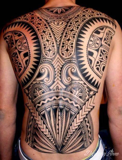 Tatuaż Wzór maoryski