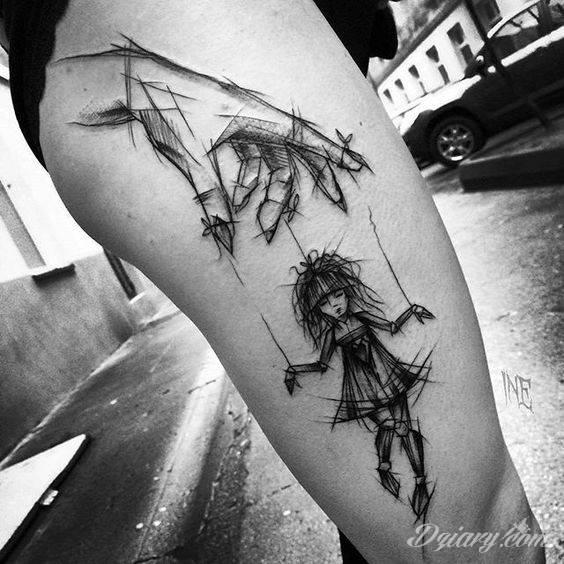 Tatuaż Z pomysłem