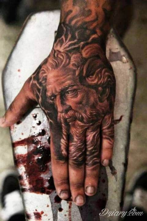 Zeus na dłoni