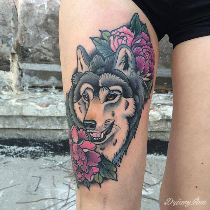 Zmierzloki tattoo Oliwia