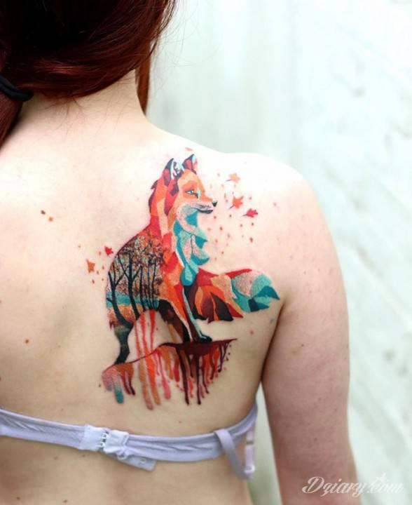 Tatuaż Znajdę swoje zwierzę,...