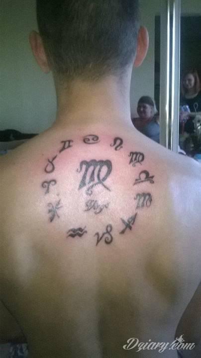Tatuaż Znaki zodiaku w...